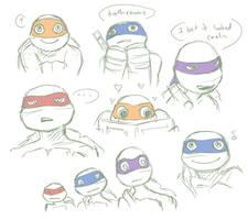 TMNT12 doodlys by 10yrsy
