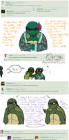 Ask the AU Turtles: 3 by 10yrsy