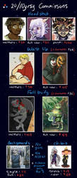 Commission Prices by 10yrsy