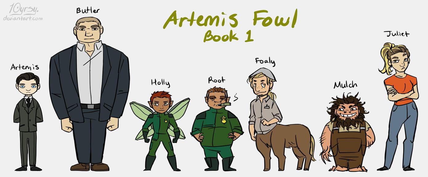 Artemis Fowl lineup by 10yrsy on DeviantArt