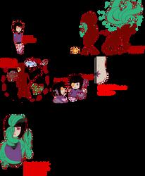 Cursed Dollifiika trait sheet WIP