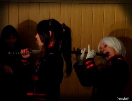 Moyashi eats Mugen by Yuzukiii