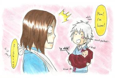 Shion returns home::Spoiler:: by Yuzukiii