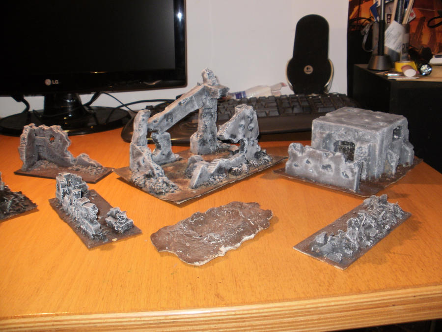 The concept that homemade terrain is
