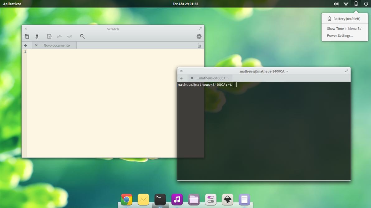 My desktop by MatheusLigabue