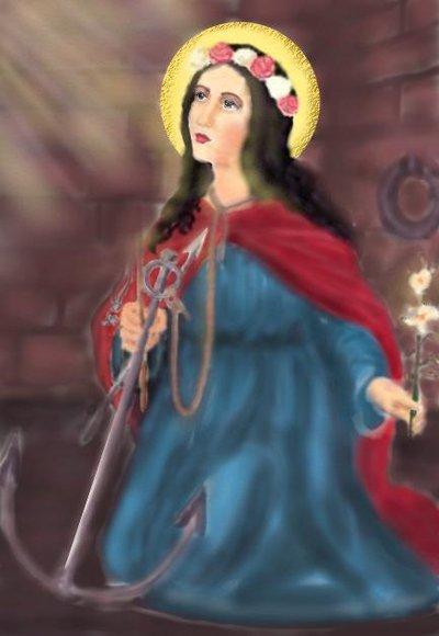 St.Filumena by anelphia