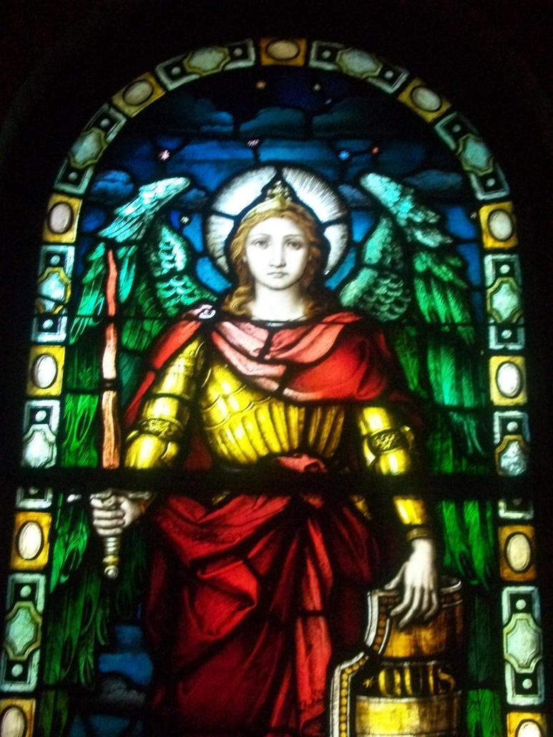 Saint Michael by anelphia
