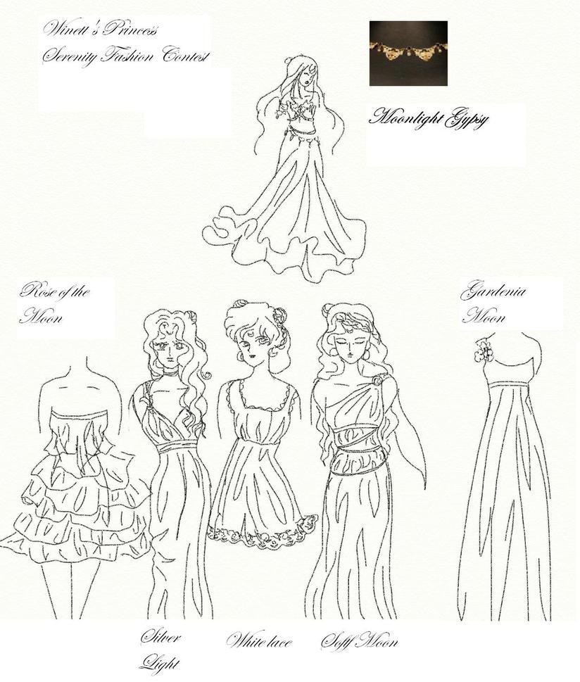 Winetta's Fashion Contest 12 by anelphia