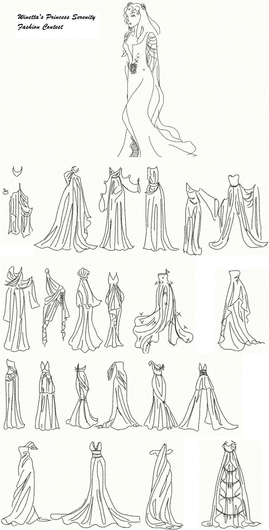 Winetta's Fashion Contest 19 by anelphia