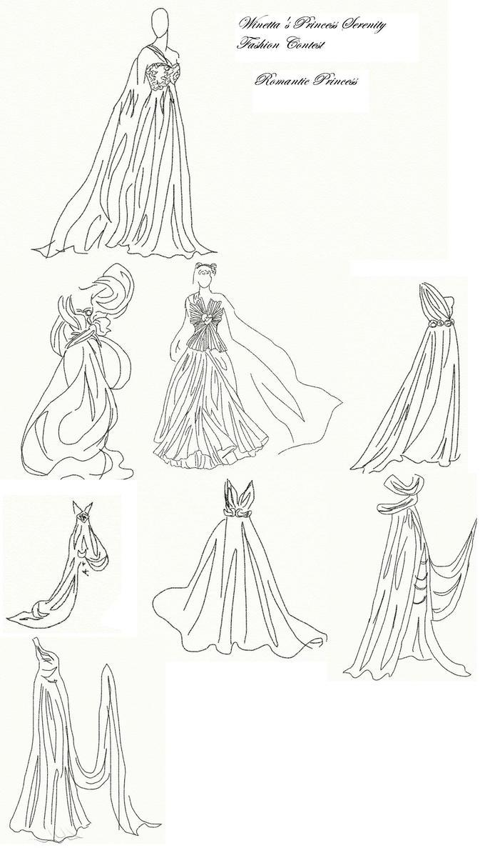 Winetta's Fashion Contest 21 by anelphia