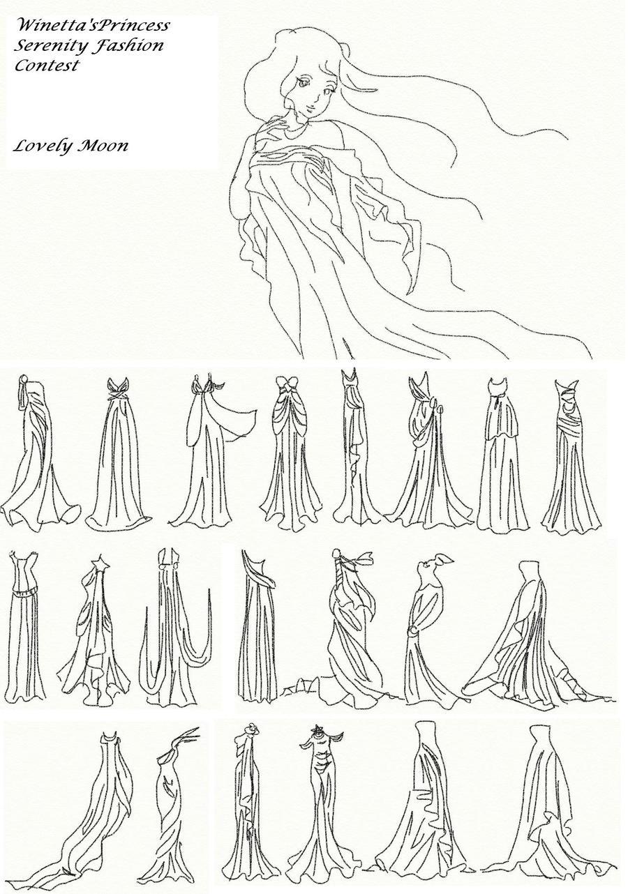 Winetta's Fashion Contest 22 by anelphia