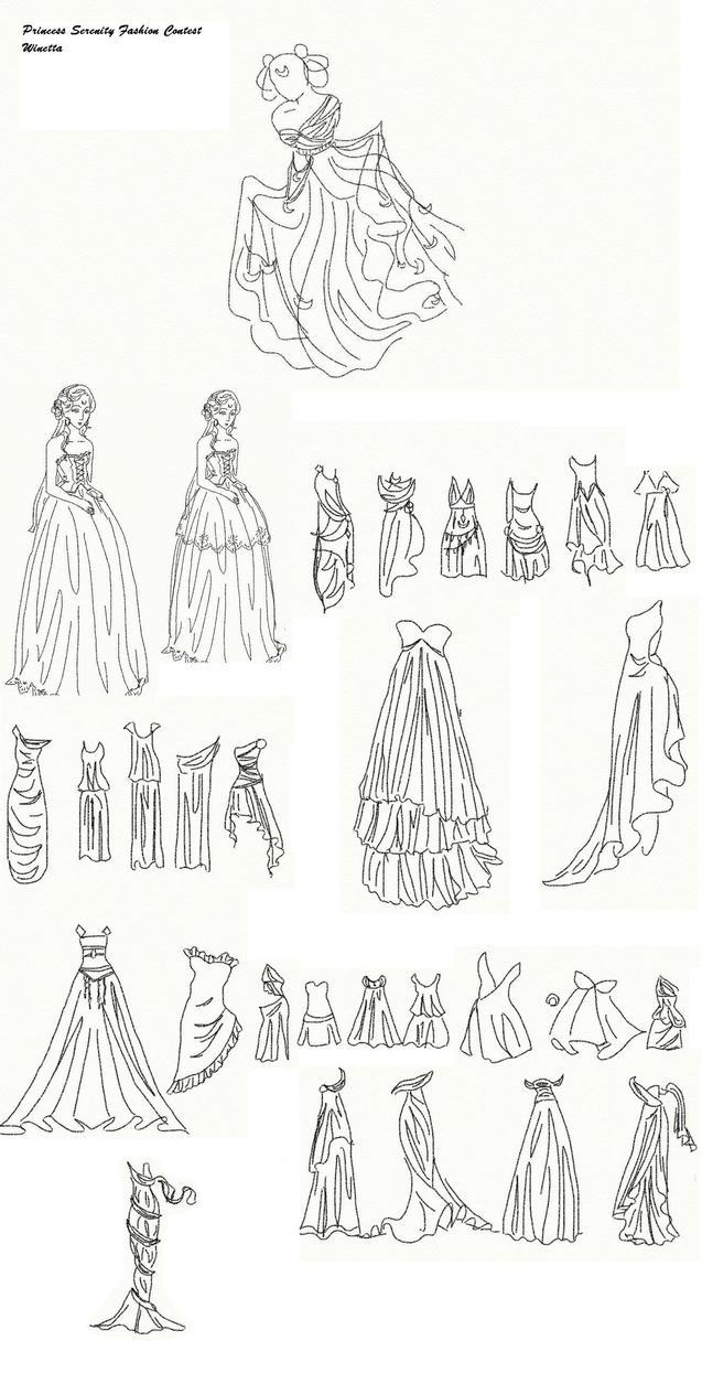 Winetta's Fashion Contest 23 by anelphia