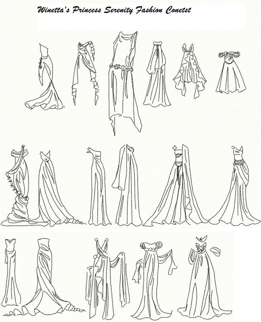 Winetta's Fashion Contest 24 by anelphia