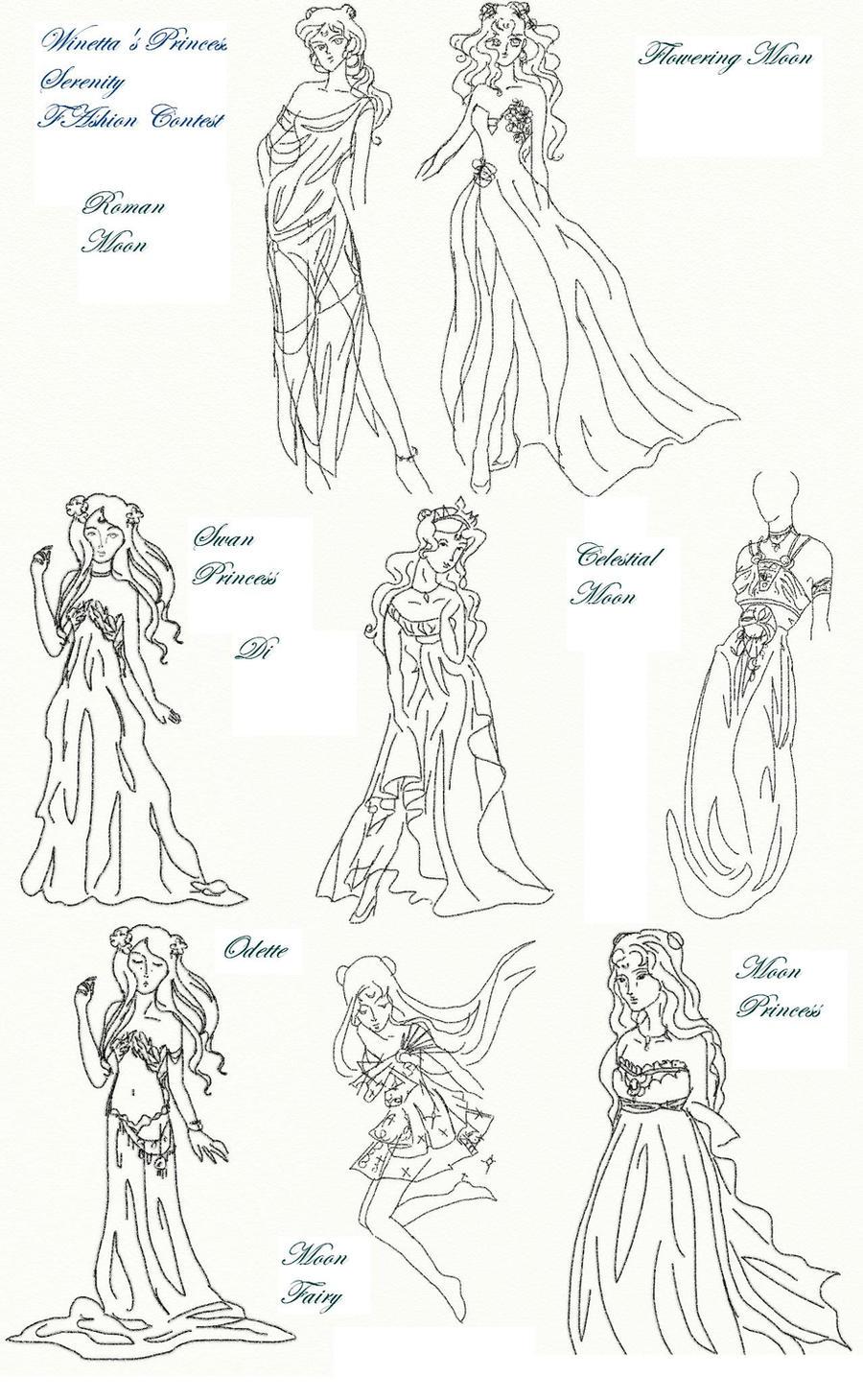 Winetta's Fashion Contest 27 by anelphia