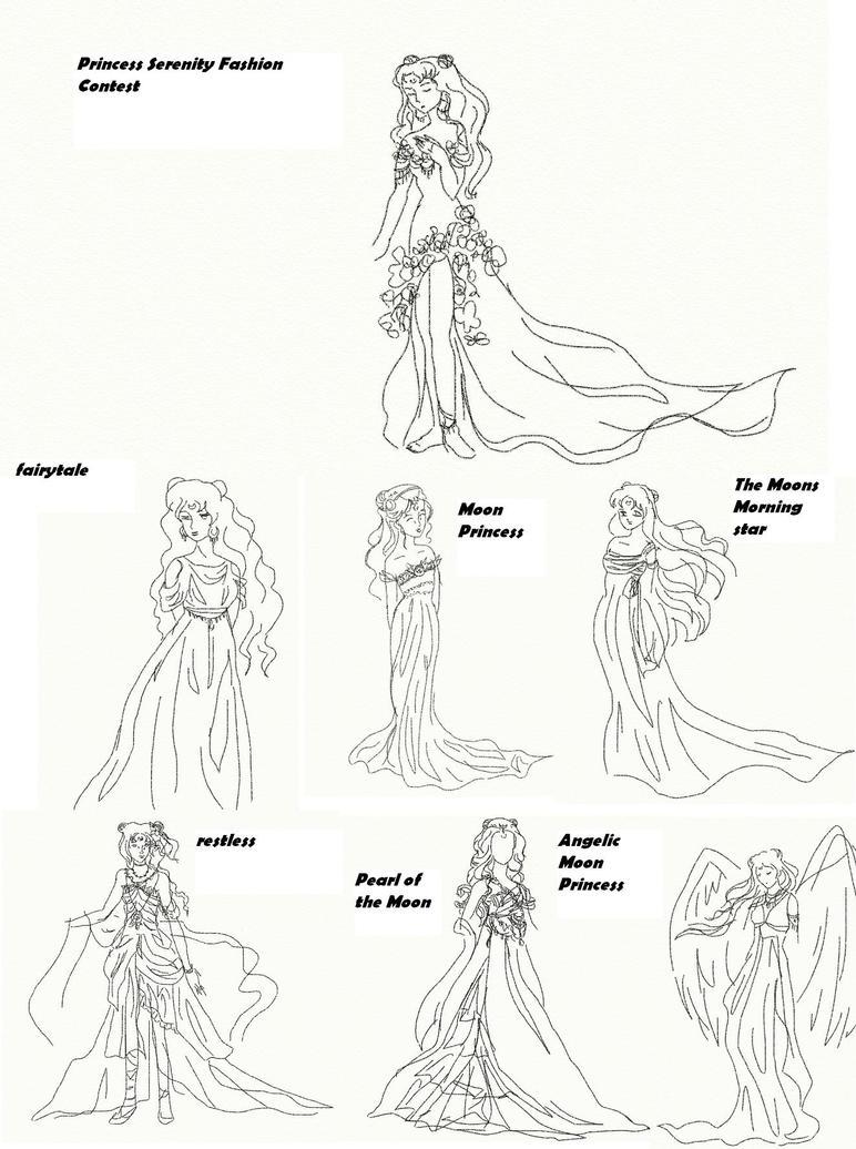 Winetta's Fashion Contest 29 by anelphia