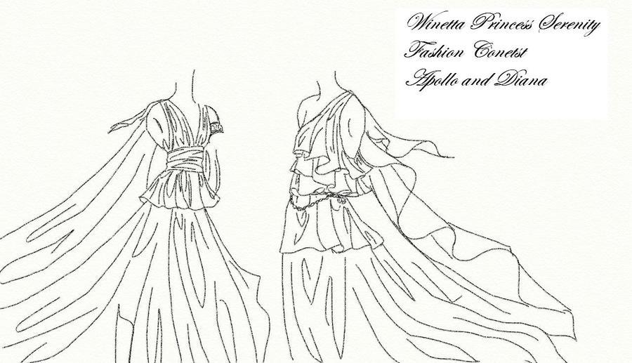 Winetta's Fashion Contest 31 by anelphia