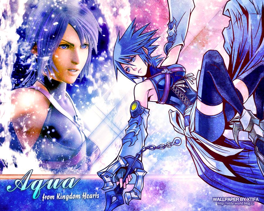 Kingdom Hearts Aqua Wallpaper Aqua from Kingdom Hear...