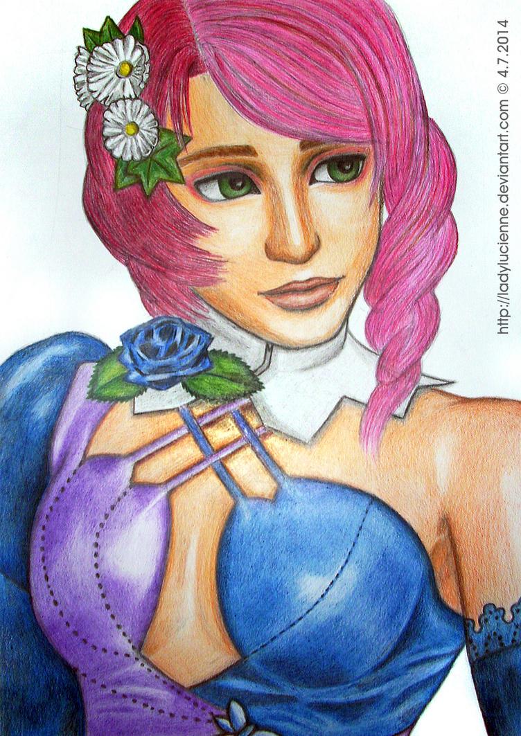 Alisa from Tekken - fanart by ladylucienne