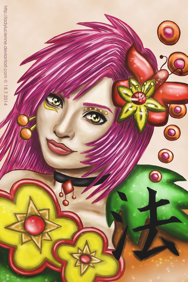 Flower Innocence by ladylucienne