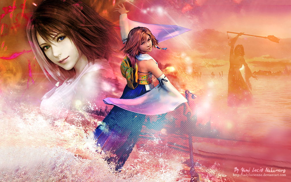 yuna ffx wallpaper - photo #2