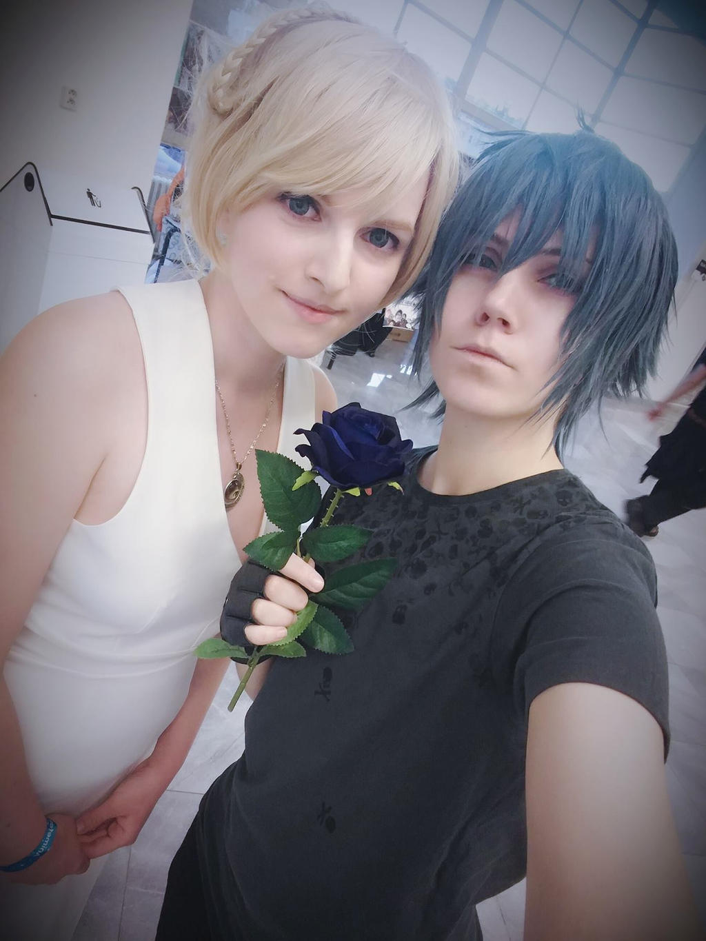Noctis and Lunafreya by ladylucienne