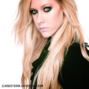 Avril Lavigne display by glambertemma
