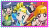 Powerpuff Girls Z Stamp 2 by MaeIHaveSomePepsi