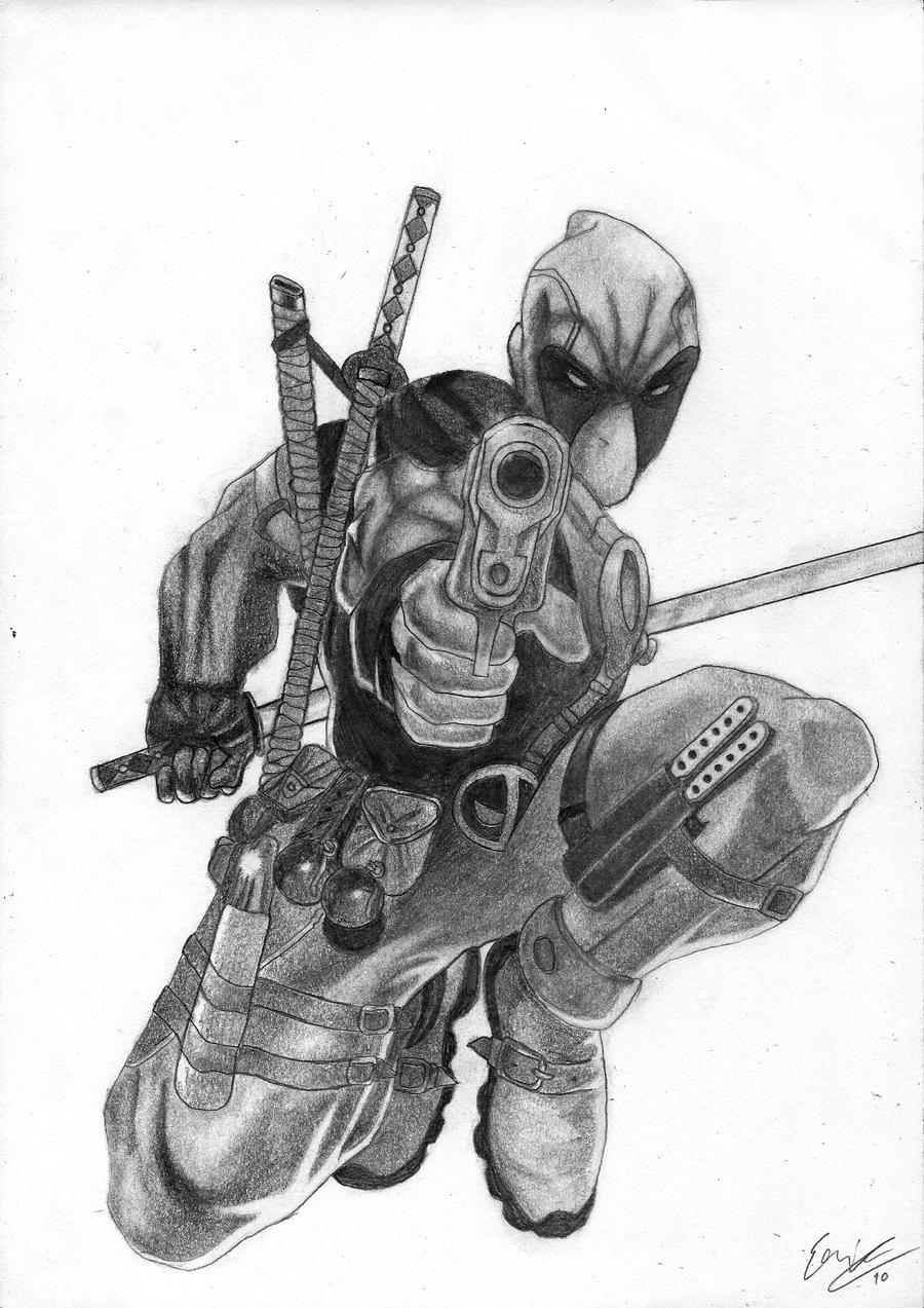 Deadpool by E-r-1-C