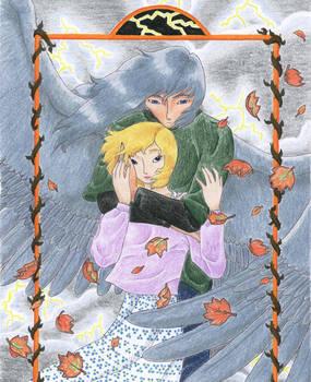 Rowan and Risa as Autumn