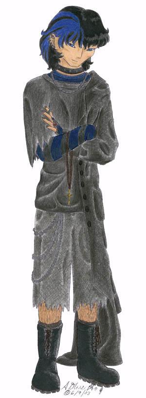 Rowan goes gothic