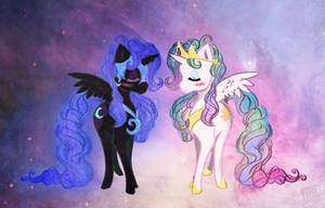 sisters by CosmicUnicorn
