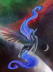 ponysketch - moon princess by CosmicUnicorn