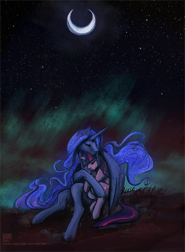 quietly there by CosmicUnicorn