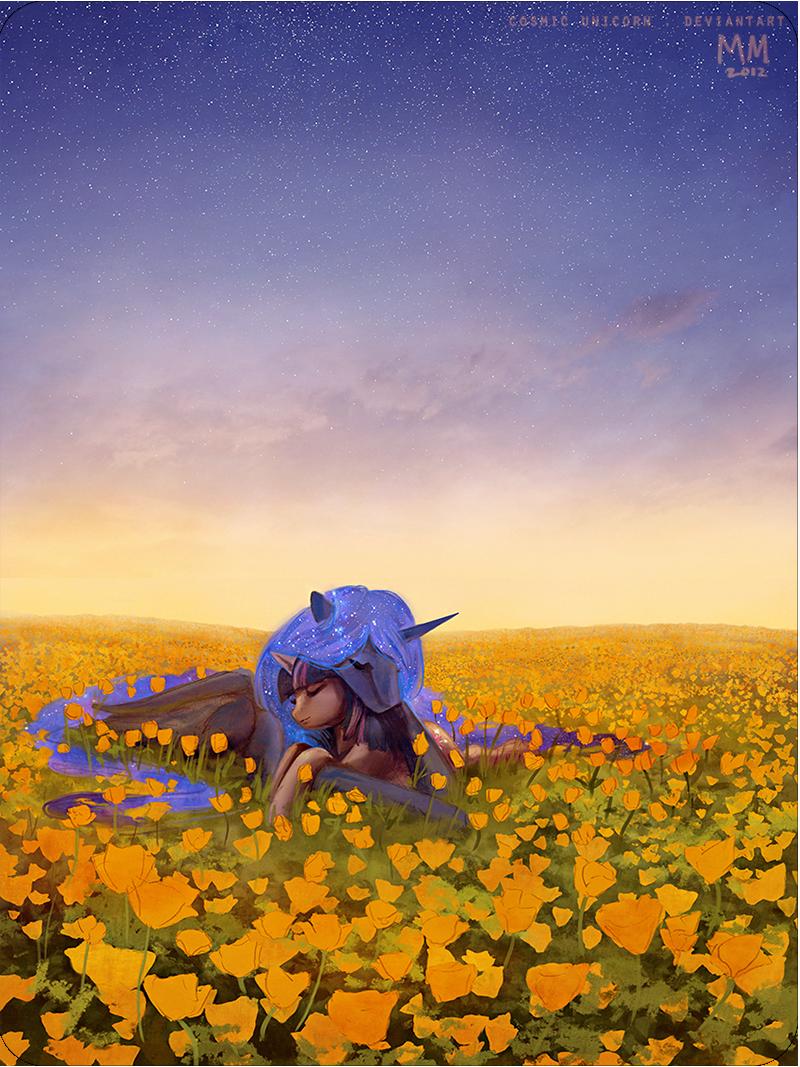 poppy love by CosmicUnicorn