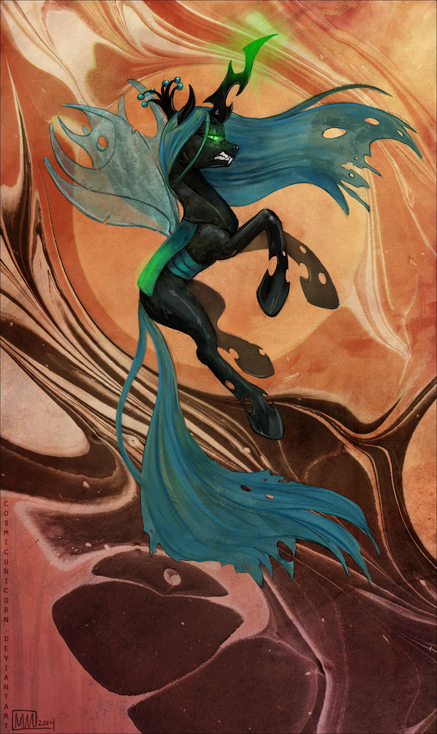 Queen Chrysalis by CosmicUnicorn