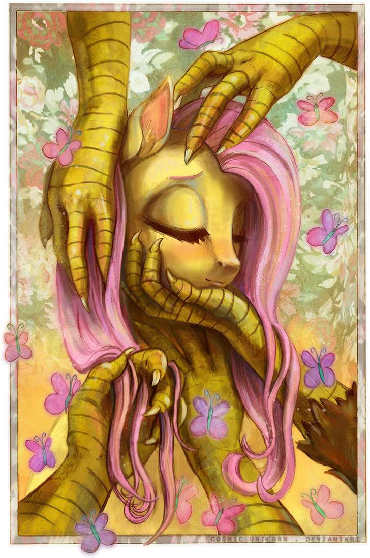 Fluttertouch by CosmicUnicorn