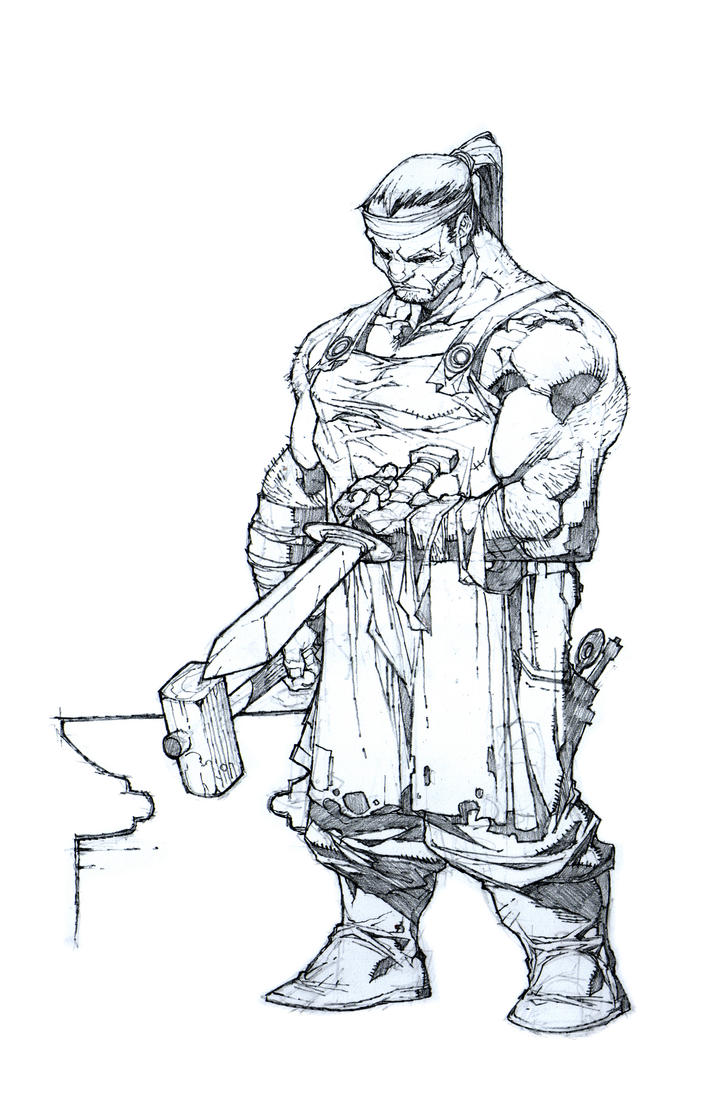 blacksmith by noelrodriguez