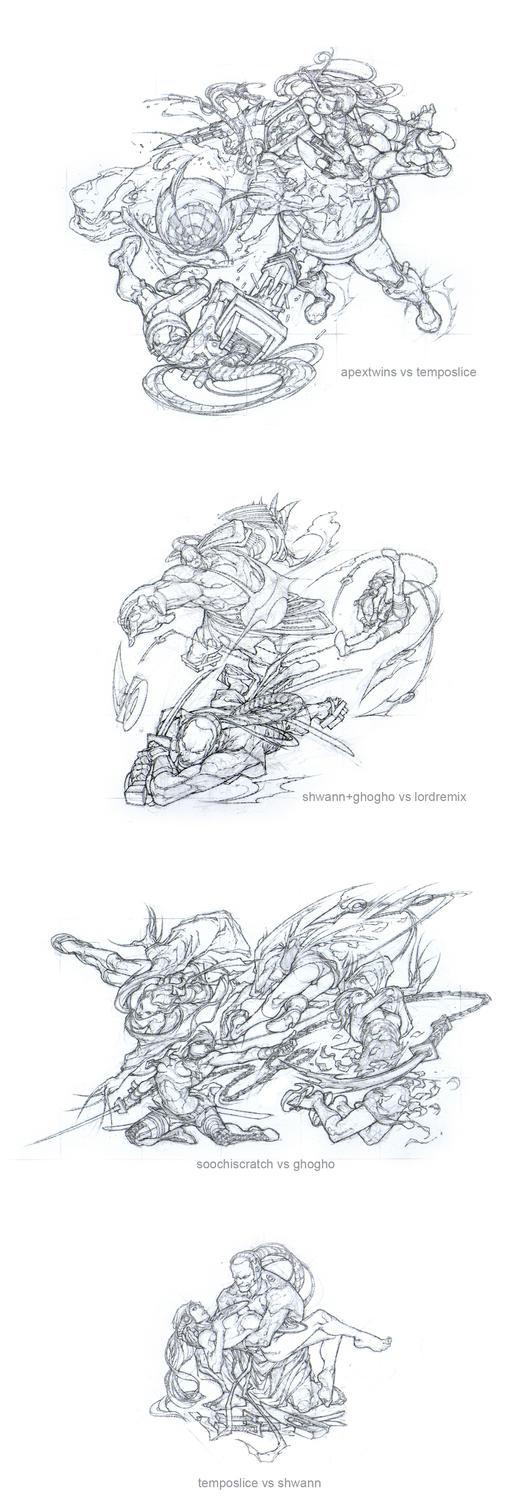 layouts for dj shwann 03 by noelrodriguez