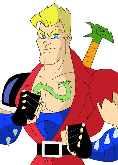 double dragon cartoon characters