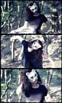 Creepy face, creepy dance
