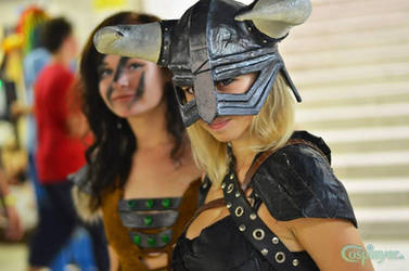 Aela and Dragonborn