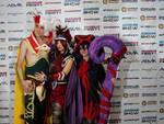 Rakan, Xayah and Lulu cosplay