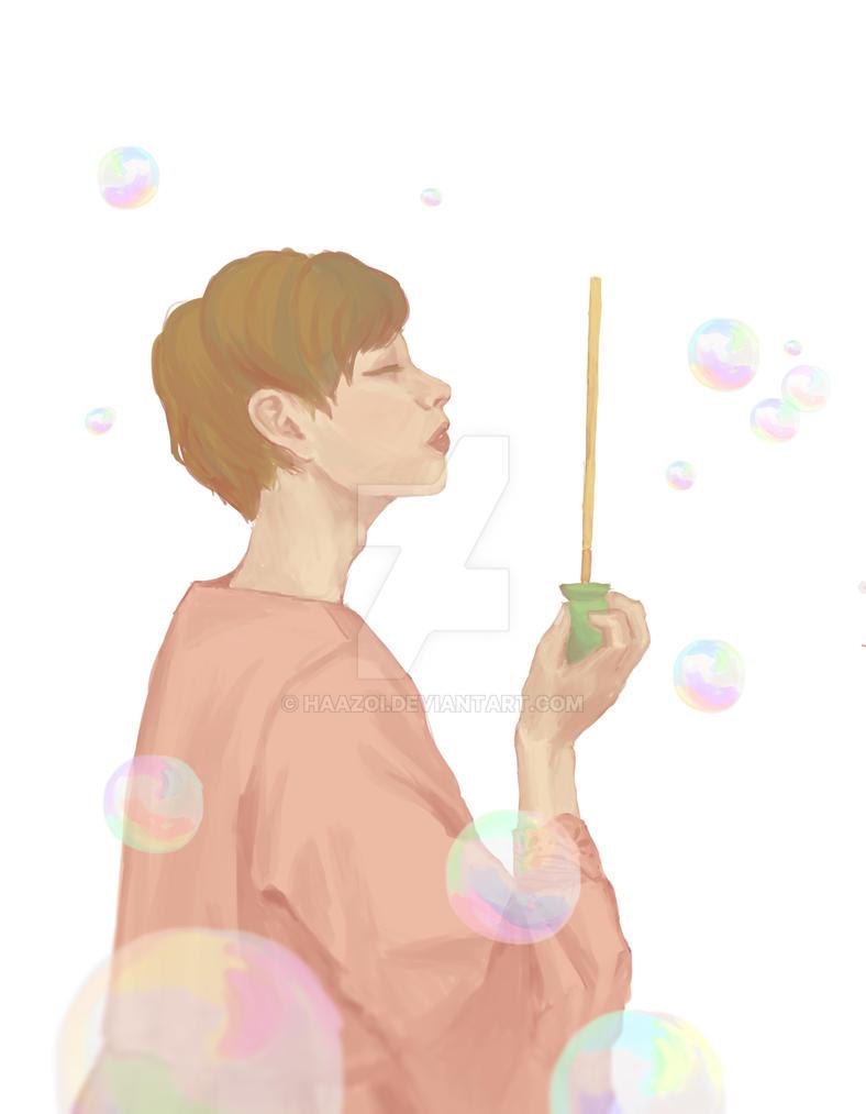 bubbles by haazoi