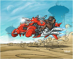 Red Rider by tomzoo