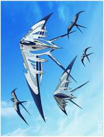 K-X Kite by tomzoo