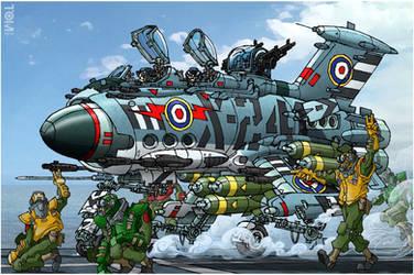 Supermarine Bulldog by tomzoo