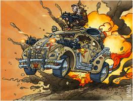 War Bug by tomzoo