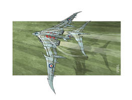 Vickers Victor Vampire by tomzoo