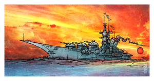 Battleship Sunrise
