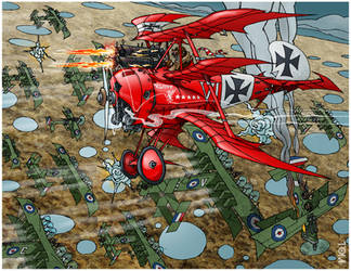 The Red Baron by tomzoo